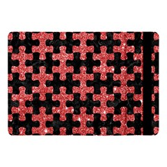Puzzle1 Black Marble & Red Glitter Apple Ipad Pro 10 5   Flip Case by trendistuff