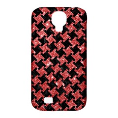 Houndstooth2 Black Marble & Red Glitterhoundstooth2 Black Marble & Red Glitter Samsung Galaxy S4 Classic Hardshell Case (pc+silicone) by trendistuff