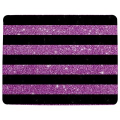 Stripes2black Marble & Purple Glitter Jigsaw Puzzle Photo Stand (rectangular) by trendistuff
