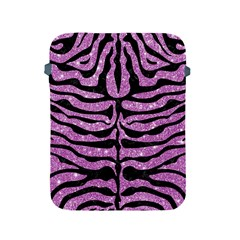 Skin2 Black Marble & Purple Glitter Apple Ipad 2/3/4 Protective Soft Cases by trendistuff