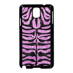 Skin2 Black Marble & Purple Glitter Samsung Galaxy Note 3 Neo Hardshell Case (black) by trendistuff