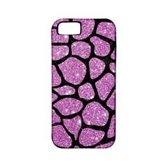 Skin1 Black Marble & Purple Glitter (r) Apple Iphone 5 Classic Hardshell Case (pc+silicone) by trendistuff