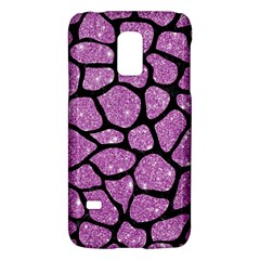 Skin1 Black Marble & Purple Glitter (r) Galaxy S5 Mini by trendistuff
