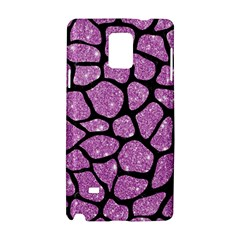 Skin1 Black Marble & Purple Glitter (r) Samsung Galaxy Note 4 Hardshell Case by trendistuff