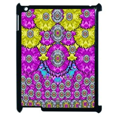 Fantasy Bloom In Spring Time Lively Colors Apple Ipad 2 Case (black) by pepitasart