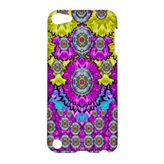 Fantasy Bloom In Spring Time Lively Colors Apple Ipod Touch 5 Hardshell Case by pepitasart