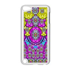 Fantasy Bloom In Spring Time Lively Colors Apple Ipod Touch 5 Case (white) by pepitasart