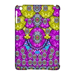 Fantasy Bloom In Spring Time Lively Colors Apple Ipad Mini Hardshell Case (compatible With Smart Cover) by pepitasart
