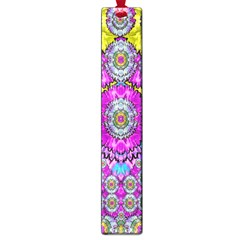 Fantasy Bloom In Spring Time Lively Colors Large Book Marks by pepitasart