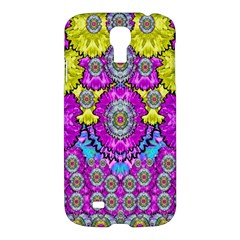 Fantasy Bloom In Spring Time Lively Colors Samsung Galaxy S4 I9500/i9505 Hardshell Case by pepitasart