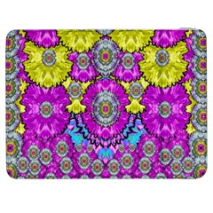 Fantasy Bloom In Spring Time Lively Colors Samsung Galaxy Tab 7  P1000 Flip Case by pepitasart