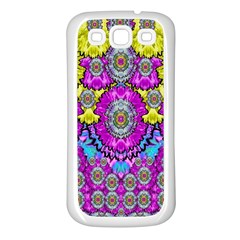 Fantasy Bloom In Spring Time Lively Colors Samsung Galaxy S3 Back Case (white) by pepitasart