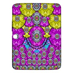 Fantasy Bloom In Spring Time Lively Colors Samsung Galaxy Tab 3 (10 1 ) P5200 Hardshell Case  by pepitasart