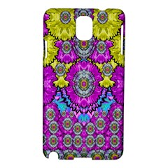 Fantasy Bloom In Spring Time Lively Colors Samsung Galaxy Note 3 N9005 Hardshell Case by pepitasart