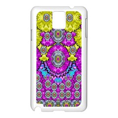 Fantasy Bloom In Spring Time Lively Colors Samsung Galaxy Note 3 N9005 Case (white) by pepitasart