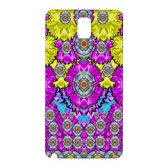Fantasy Bloom In Spring Time Lively Colors Samsung Galaxy Note 3 N9005 Hardshell Back Case by pepitasart