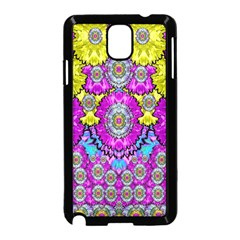 Fantasy Bloom In Spring Time Lively Colors Samsung Galaxy Note 3 Neo Hardshell Case (black) by pepitasart