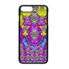 Fantasy Bloom In Spring Time Lively Colors Apple Iphone 7 Plus Seamless Case (black) by pepitasart