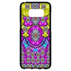 Fantasy Bloom In Spring Time Lively Colors Samsung Galaxy S8 Black Seamless Case by pepitasart