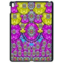 Fantasy Bloom In Spring Time Lively Colors Apple Ipad Pro 9 7   Black Seamless Case by pepitasart