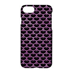 Scales3 Black Marble & Purple Glitter (r) Apple Iphone 7 Hardshell Case by trendistuff