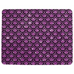 Scales2 Black Marble & Purple Glitter Jigsaw Puzzle Photo Stand (rectangular) by trendistuff
