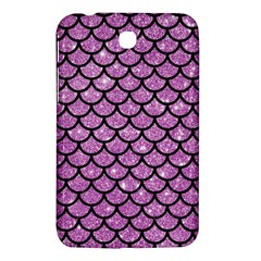 Scales1 Black Marble & Purple Glitter Samsung Galaxy Tab 3 (7 ) P3200 Hardshell Case  by trendistuff
