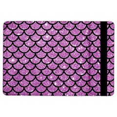 Scales1 Black Marble & Purple Glitter Ipad Air 2 Flip by trendistuff