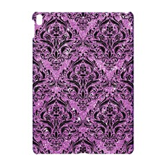 Damask1 Black Marble & Purple Glitter Apple Ipad Pro 10 5   Hardshell Case by trendistuff