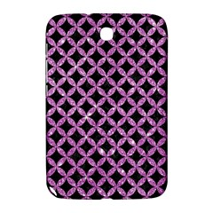 Circles3 Black Marble & Purple Glitter (r) Samsung Galaxy Note 8 0 N5100 Hardshell Case  by trendistuff