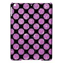 Circles2 Black Marble & Purple Glitter (r) Ipad Air Hardshell Cases by trendistuff