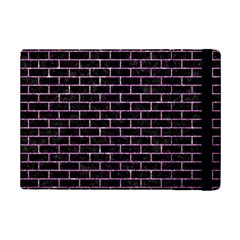 Brick1 Black Marble & Purple Glitter (r) Ipad Mini 2 Flip Cases by trendistuff