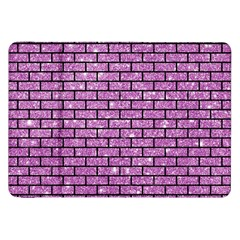 Brick1 Black Marble & Purple Glitter Samsung Galaxy Tab 8 9  P7300 Flip Case by trendistuff