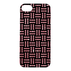 Woven1 Black Marble & Pink Glitter (r) Apple Iphone 5s/ Se Hardshell Case by trendistuff