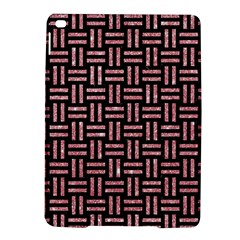 Woven1 Black Marble & Pink Glitter (r) Ipad Air 2 Hardshell Cases