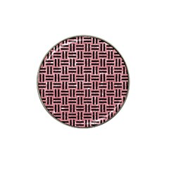Woven1 Black Marble & Pink Glitter Hat Clip Ball Marker (10 Pack) by trendistuff