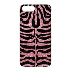 Skin2 Black Marble & Pink Glitter (r) Apple Iphone 8 Plus Hardshell Case by trendistuff