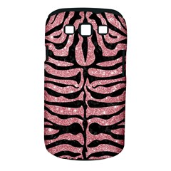 Skin2 Black Marble & Pink Glitter Samsung Galaxy S Iii Classic Hardshell Case (pc+silicone) by trendistuff