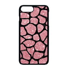 Skin1 Black Marble & Pink Glitter (r) Apple Iphone 8 Plus Seamless Case (black) by trendistuff