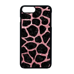 Skin1 Black Marble & Pink Glitter Apple Iphone 8 Plus Seamless Case (black) by trendistuff