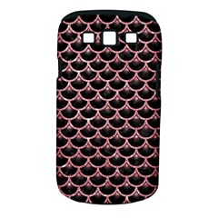 Scales3 Black Marble & Pink Glitter (r) Samsung Galaxy S Iii Classic Hardshell Case (pc+silicone) by trendistuff