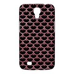 Scales3 Black Marble & Pink Glitter (r) Samsung Galaxy Mega 6 3  I9200 Hardshell Case by trendistuff