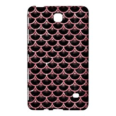 Scales3 Black Marble & Pink Glitter (r) Samsung Galaxy Tab 4 (8 ) Hardshell Case  by trendistuff