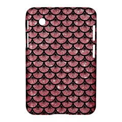 Scales3 Black Marble & Pink Glitter Samsung Galaxy Tab 2 (7 ) P3100 Hardshell Case  by trendistuff