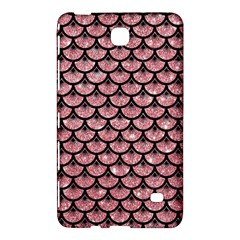 Scales3 Black Marble & Pink Glitter Samsung Galaxy Tab 4 (8 ) Hardshell Case  by trendistuff