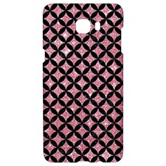 Circles3 Black Marble & Pink Glitter Samsung C9 Pro Hardshell Case  by trendistuff