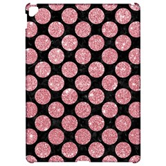 Circles2 Black Marble & Pink Glitter (r) Apple Ipad Pro 12 9   Hardshell Case by trendistuff