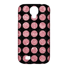 Circles1 Black Marble & Pink Glitter (r) Samsung Galaxy S4 Classic Hardshell Case (pc+silicone) by trendistuff
