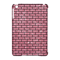 Brick1 Black Marble & Pink Glitter Apple Ipad Mini Hardshell Case (compatible With Smart Cover) by trendistuff