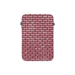 Brick1 Black Marble & Pink Glitter Apple Ipad Mini Protective Soft Cases by trendistuff